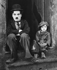 The Kid, Charlie Chaplin, 1921.